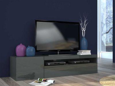 Rima mobile porta TV SKEMA  colore antracite
