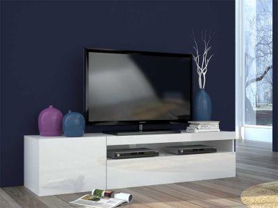 Rima mobile porta TV SKEMA  bianco lucido