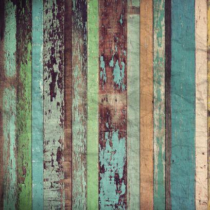Carta da parati effetto legno colorato