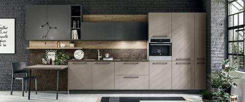Cucina Moderna Infinity lineare personalizzabile
