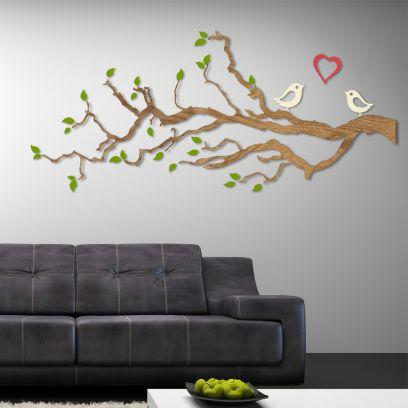 Decorazione in legno LOVE 2 metri comb.3