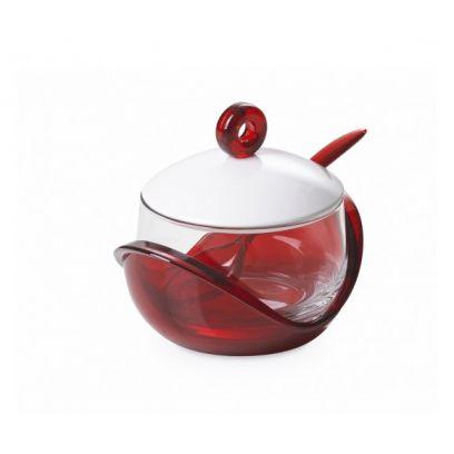 Formaggiera trendy omada colore rosso