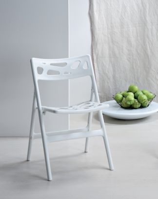 Sedia Klim bianca