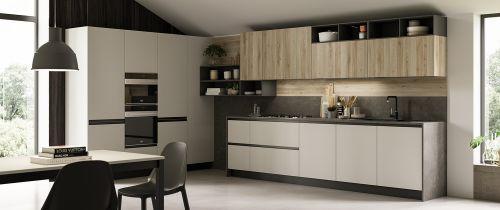 Cucina Moderna Swing ad angolo personalizzabile