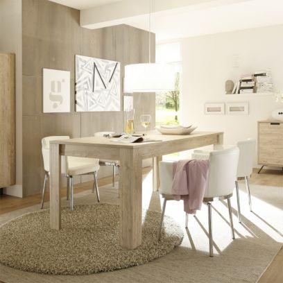 Tavolo in legno linea Palma in Finitura Oak 137x90 allungabile