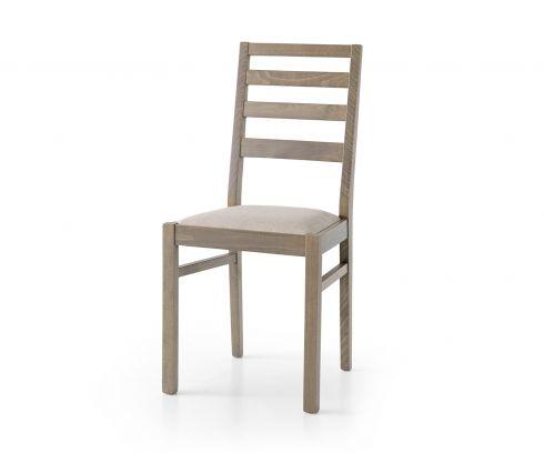 Sedia in legno Adele rovere grigio