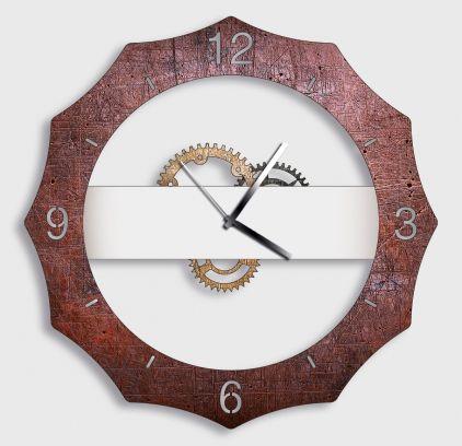 Orologio da parete GERMAN antracite red