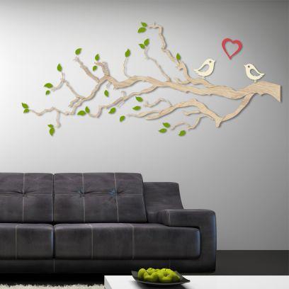 Decorazione in legno LOVE 2 metri comb.2
