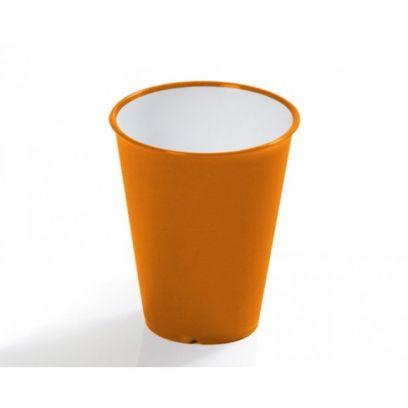Bicchiere acqua sanaliving in microban arancio