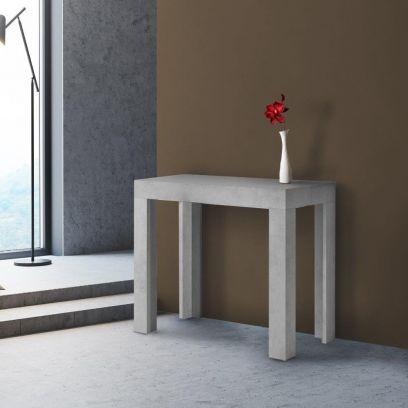 Tavolo Consolle Allungabile Evolution Cemento 3 metri