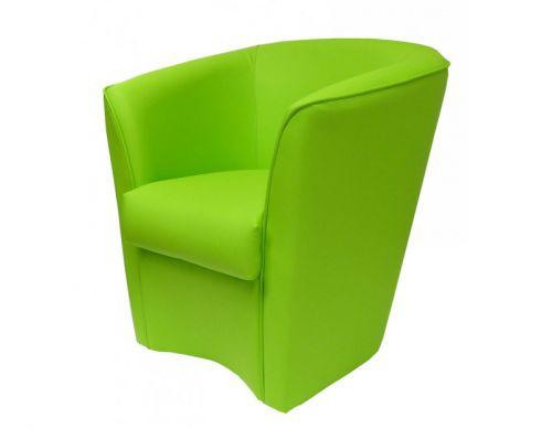 Poltrona Vanessa verde chiaro