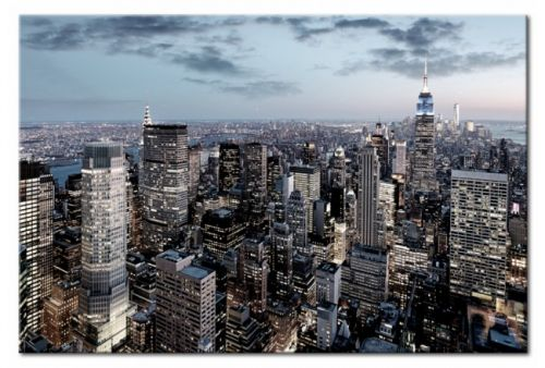 Quadro su vetro acrilico  NY Skyscaper