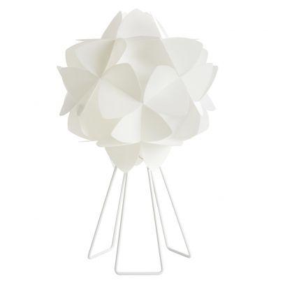 Lampada da tavolo Cotton Light in Bianco Perla