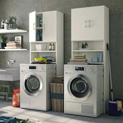 Mobile multiuso sopra lavatrice