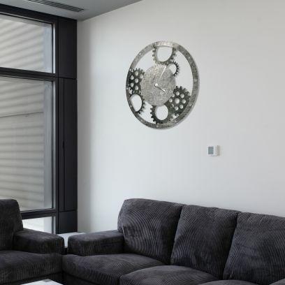 Orologio in ferro rustico effetto metallo