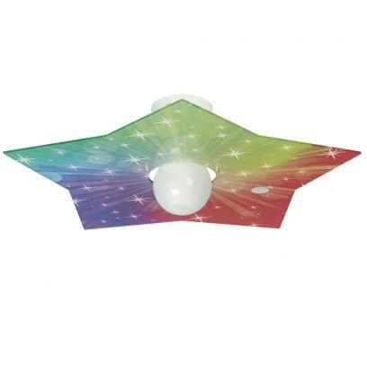 Plafoniera Star Multicolor di Emporium