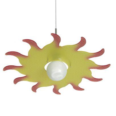 Lampada a sospensione Sol  in Giallo di Emporium