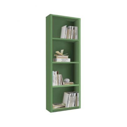 Libreria Link linea Colorfull in finitura Salvia