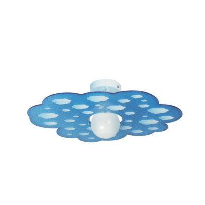 Plafoniera Cloud in Blu di Emporium