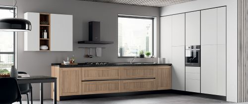 Cucina Moderna Adele ad angolo modulare