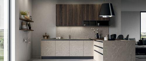 Cucina Moderna Frame con isola personalizzata