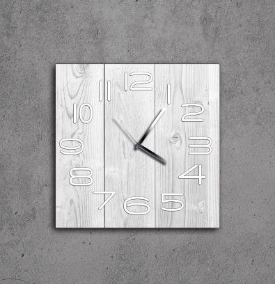 Orologio Aicon legno sbiancato