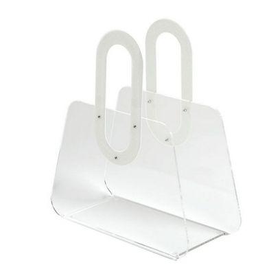 Portariviste Bag bianco