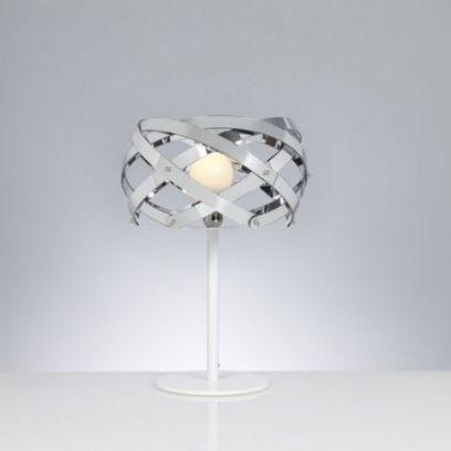 Lampada da tavolo Nuclea  Cromolite di Emporium