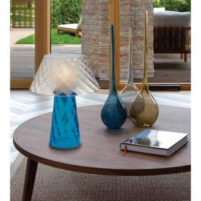 Lampada da tavolo Tata in Blu di Emporium