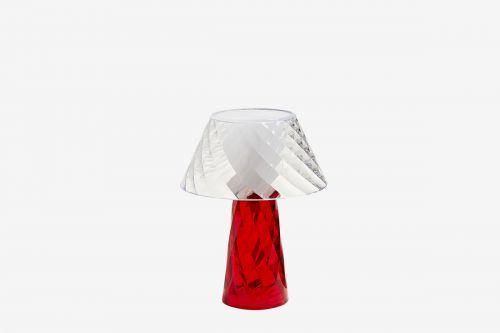 Lampada da tavolo Tata in Rosso di Emporium