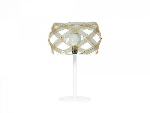 Lampada da tavolo Nuclea in Texturegold di Emporium
