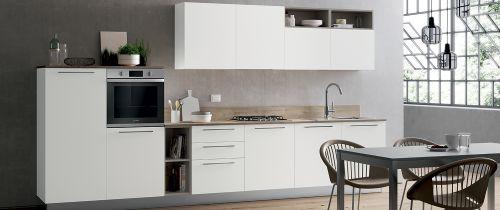 Cucina Moderna Flux lineare personalizzabile
