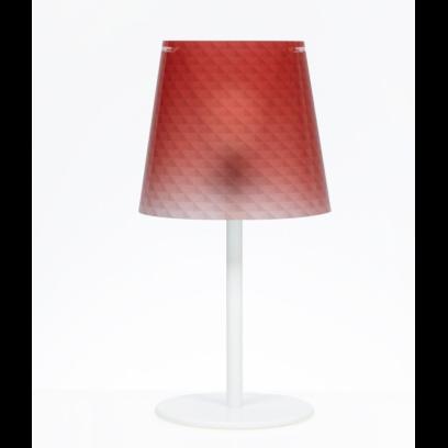 Lampada da tavolo Boemia colore Rosso L 30