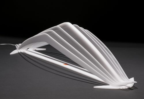 MANTA, lampada da tavolo by Leonardo Criolani