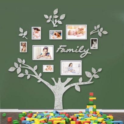 Quadro foto di Famiglia ALBERO della vita cemento