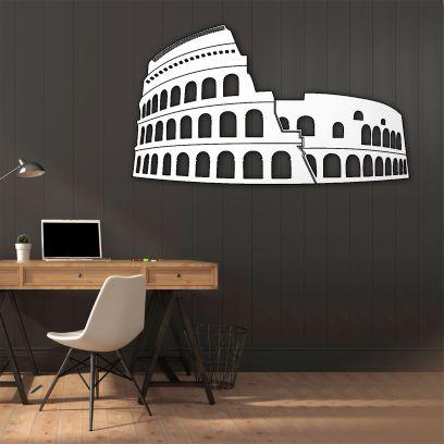 Colosseo Roma - bianco