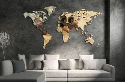 Planisfero da parete 1,5 metri - Egitto