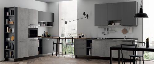 Cucina Moderna Urban ad angolo modulare