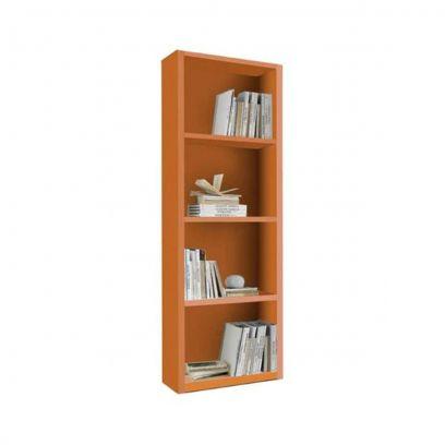 Libreria Link linea Colorfull in finitura Mandarino