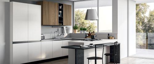 Cucina Moderna Mia ad U L.360X270 personalizzabile