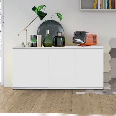 Madia moderna 3 ante Cloe Bianco opco 17 colorazioni