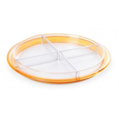 Antipastiera Globo, diametro 32,5 cm giallo