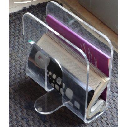 Portariviste flap emporium trasparente