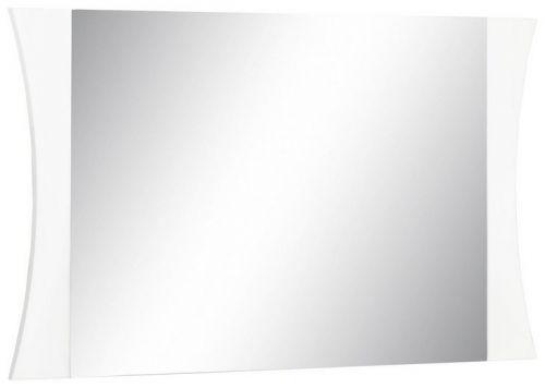 Specchiera linea Arco in Bianco Lucido L 101
