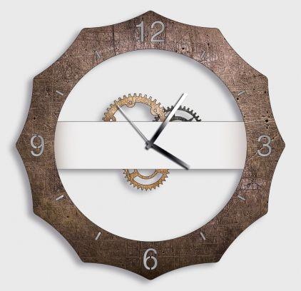 Orologio da parete GERMAN antracite gold