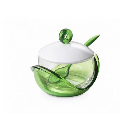Formaggiera trendy omada colore verde