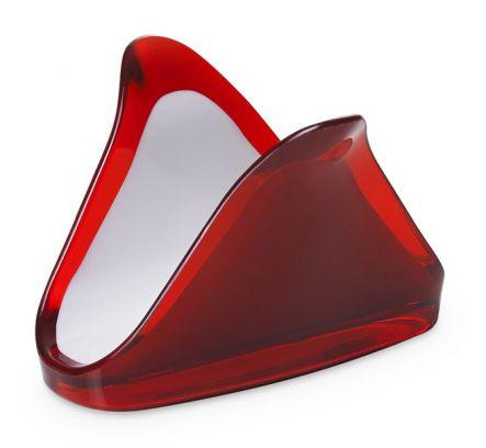 Portatovaglioli Square omada rosso