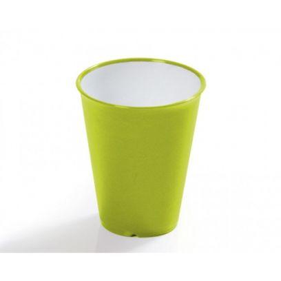 Bicchiere acqua sanaliving in microban verde