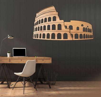 Colosseo Roma - legno chiaro