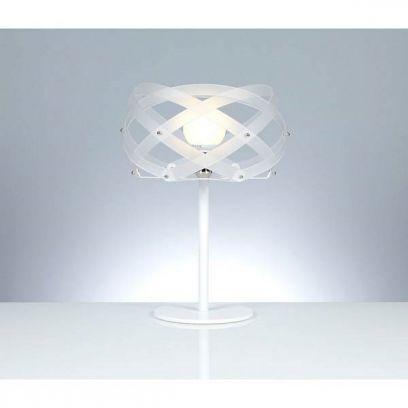Lampada da tavolo Nuclea  in Bianco Satinato di Emporium
